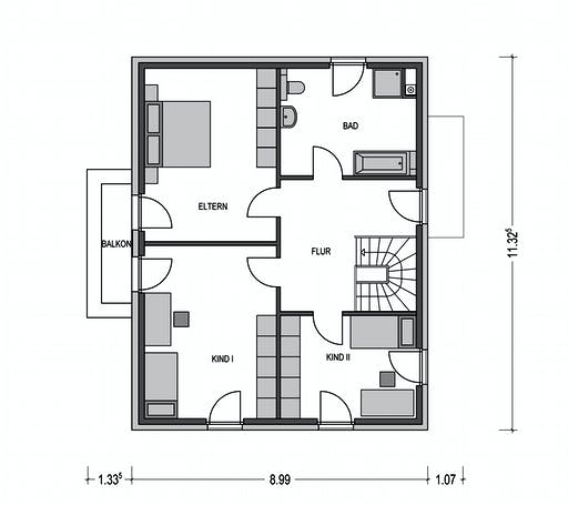 Calvus SD 200.2 Floorplan 2