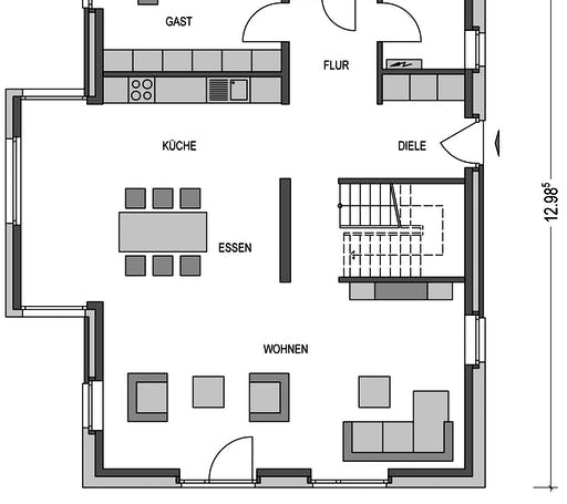 Calvus SD.300.2 Floorplan 1