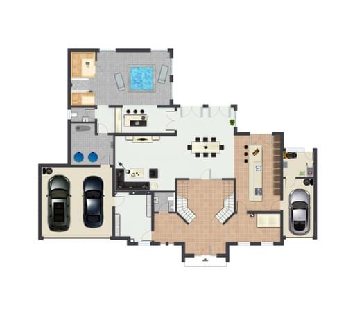 Gussek Haus - Canstatt EG