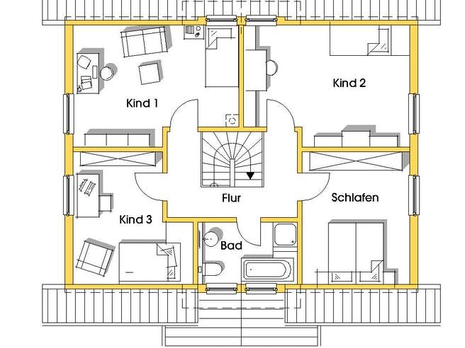 Carmen (KfW-Effizienzhaus 55) floor_plans 0