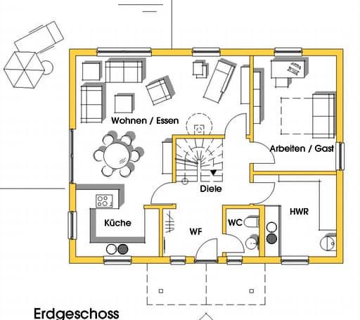 Carmen (KfW-Effizienzhaus 55) floor_plans 1