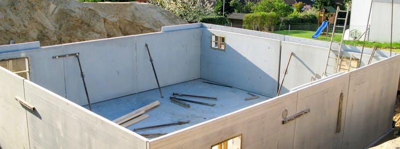 Keller oder Bodenplatte