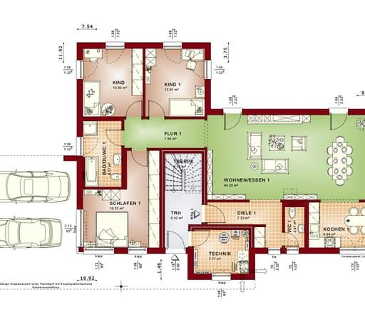 Celebration 282 V6 floor_plans 0