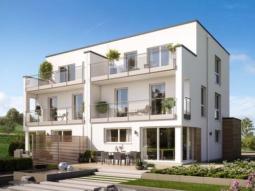 Gut bekannt Ein Doppelhaus planen & bauen - Häuser & Infos | Fertighaus.de TY29