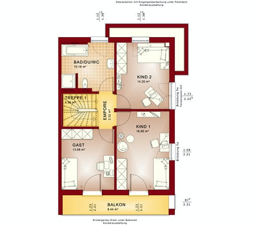 CELEBRATION 122 V7 XL Floorplan 2