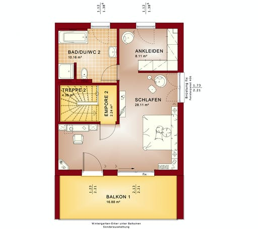CELEBRATION 122 V7 XL Floorplan 3