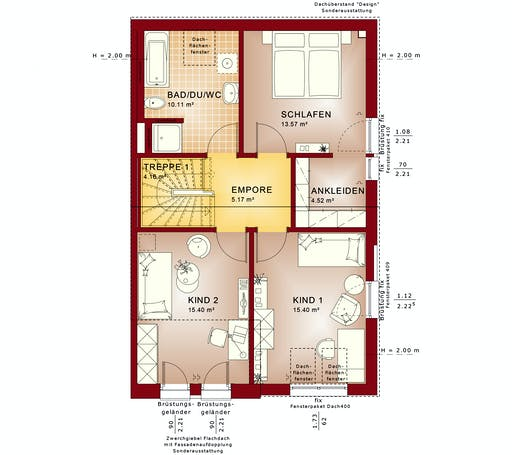 CELEBRATION 139 V2 L Floorplan 2
