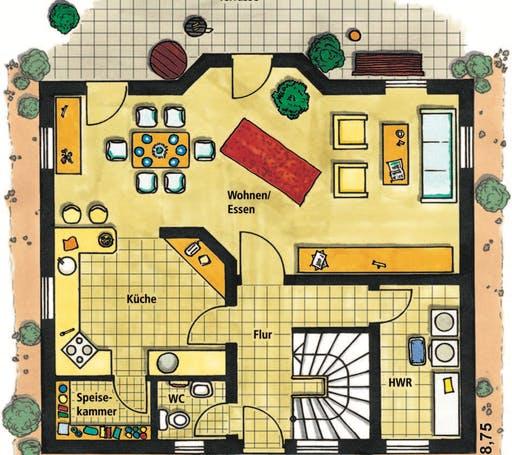 Cesano Floorplan 1