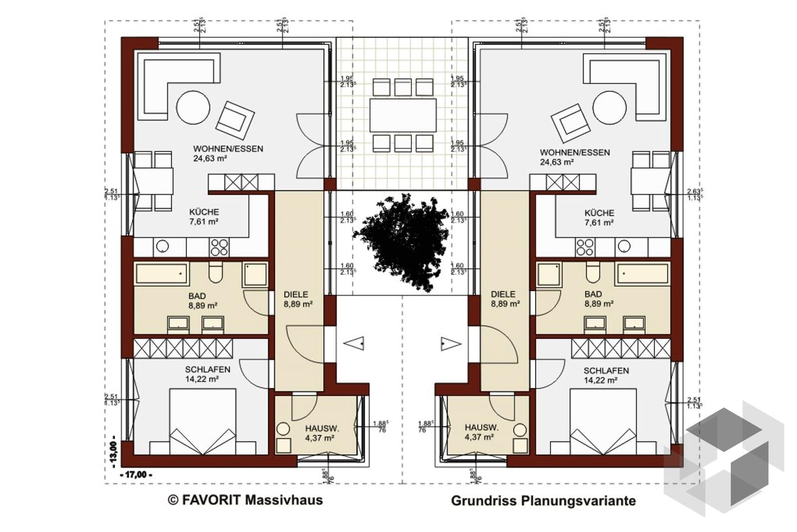 einfamilienhaus chalet  von favorit massivhaus