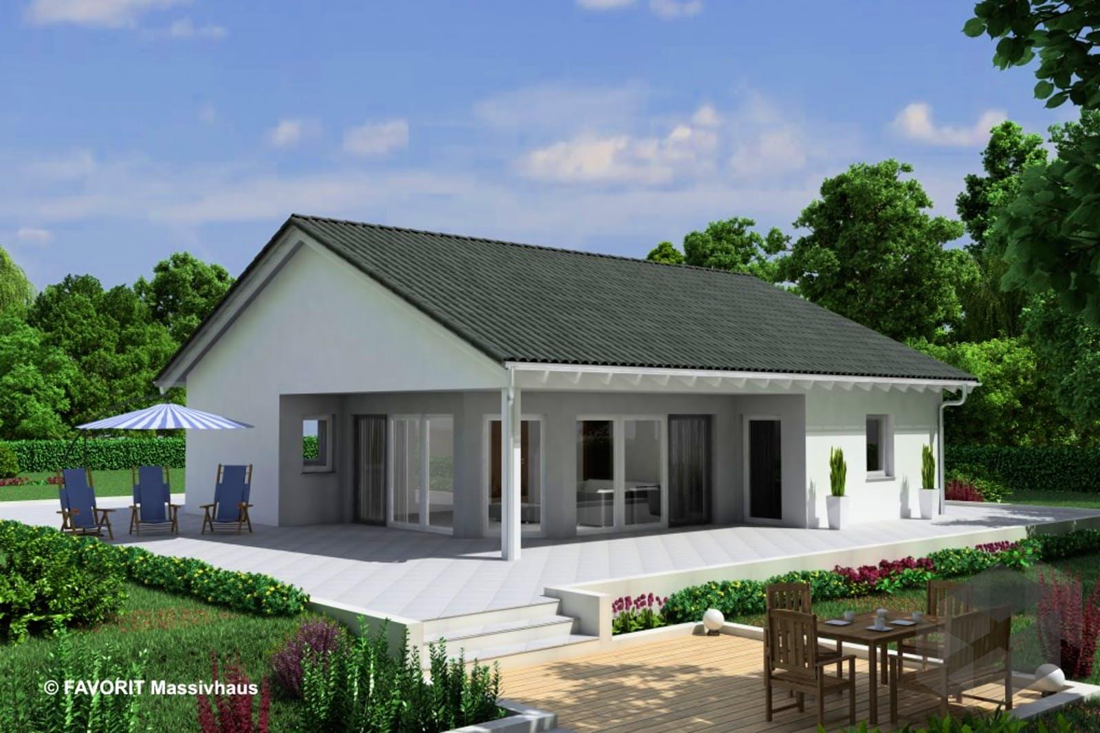 chalet 91 von favorit massivhaus komplette daten bersicht. Black Bedroom Furniture Sets. Home Design Ideas