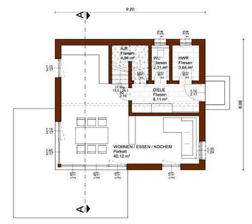 Charm 112 Floorplan 1