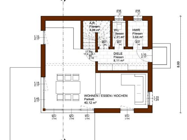 Charme 112 von Rubner Haus Grundriss 1