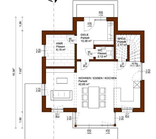Charm 117 Floorplan 1