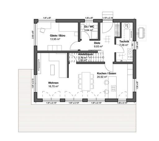Chausseestraße 157 Floorplan 1