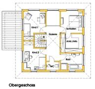 Christine 1 (KfW-Effizienzhaus 40) Grundriss