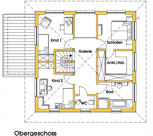 Christine 1 (KfW-Effizienzhaus 55) floor_plans 0