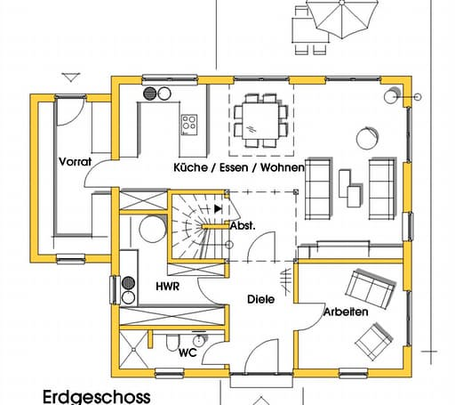 Christine 1 (KfW-Effizienzhaus 55) floor_plans 1
