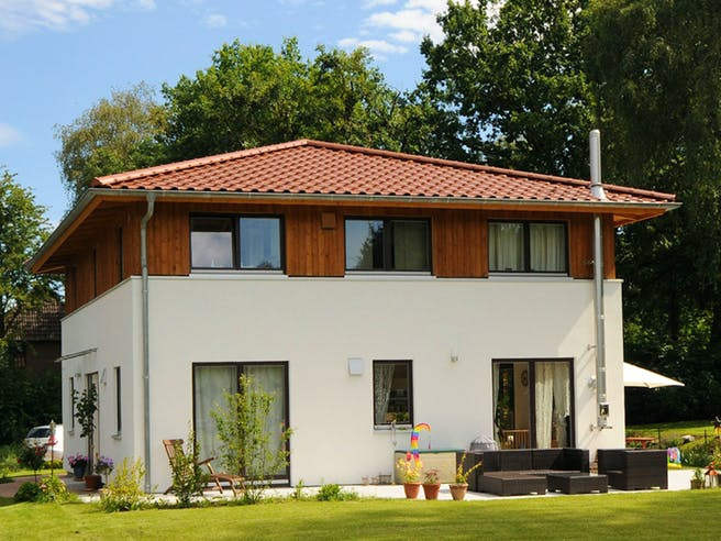 Christine 2 (KfW-Effizienzhaus 40) von Dammann-Haus Außenansicht 1