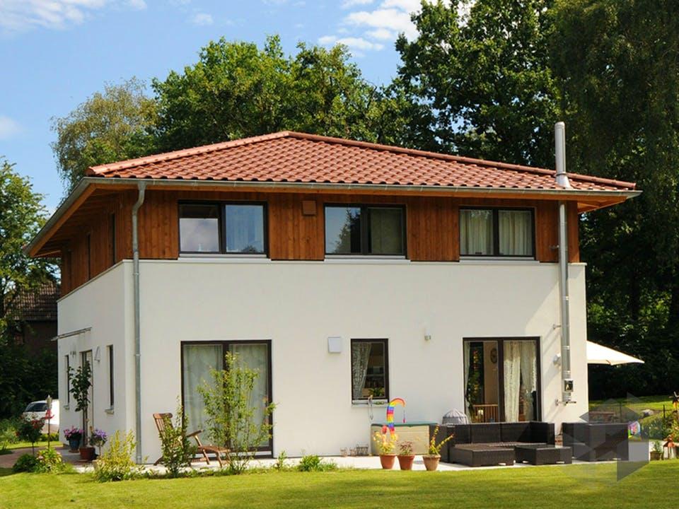Christine 2 (KfW-Effizienzhaus 40) von Dammann-Haus Außenansicht