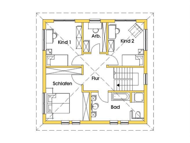 Christine 2 (KfW-Effizienzhaus 55) floor_plans 0