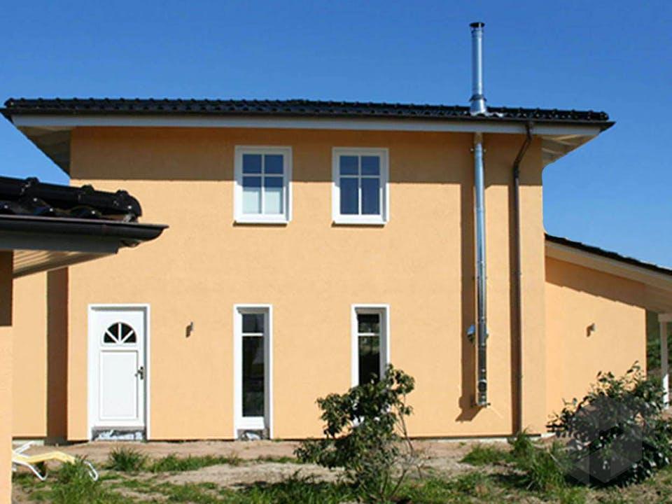 Christine 3 (KfW-Effizienzhaus 40) von Dammann-Haus Außenansicht