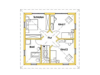 Christine 3 (KfW-Effizienzhaus 40) von Dammann-Haus Grundriss 1