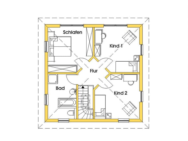 Christine 3 (KfW-Effizienzhaus 55) floor_plans 0