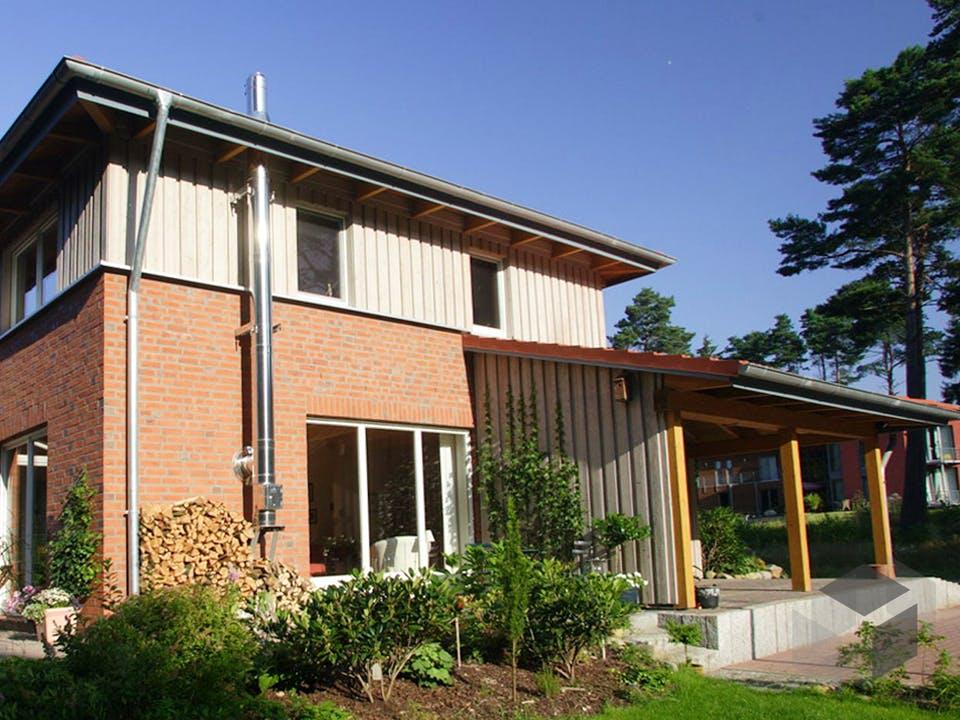 Christine 4 (KfW-Effizienzhaus 40) von Dammann-Haus Außenansicht