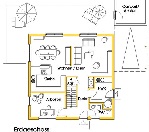 Christine 4 (KfW-Effizienzhaus 55) floor_plans 1