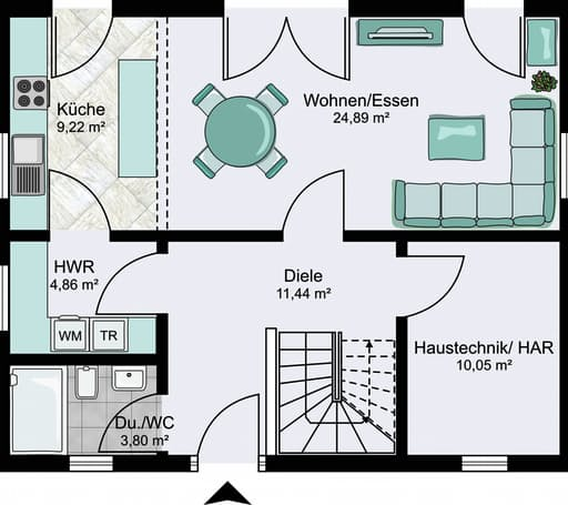 City 9.955 x 8.080 Walmdach floor_plans 1