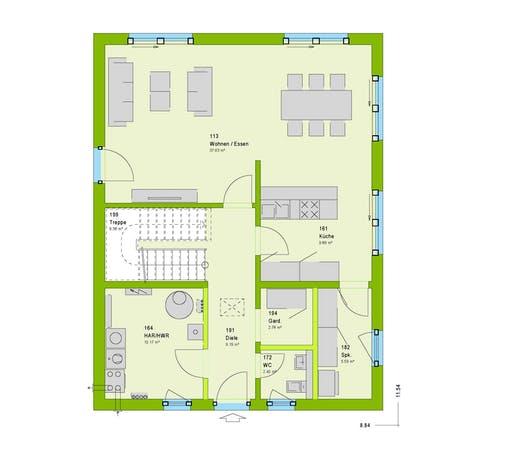 Massa - City 6 Floorplan 1