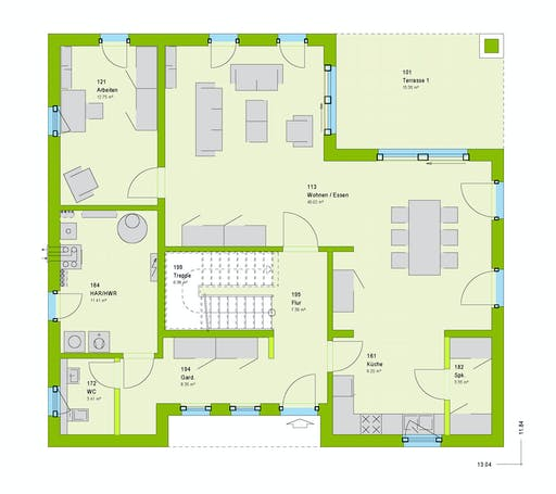 Massa - City 8 Floorplan 1