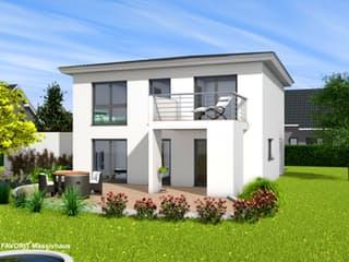 Citylife 143 von Favorit Massivhaus Außenansicht 1