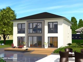 Citylife 178 von Favorit Massivhaus Außenansicht 1