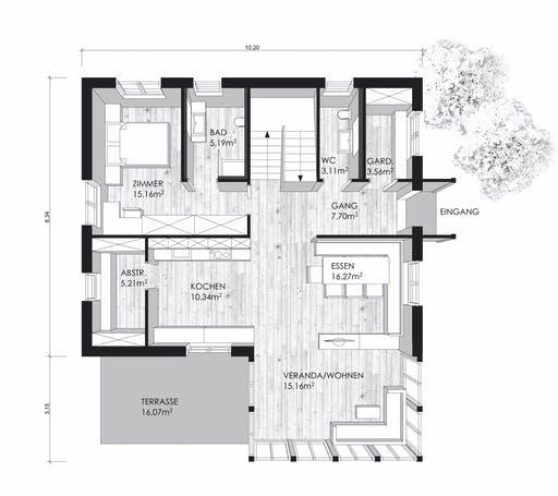Clara Floorplan 1