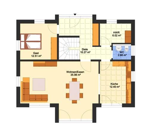 Classico Floorplan 1