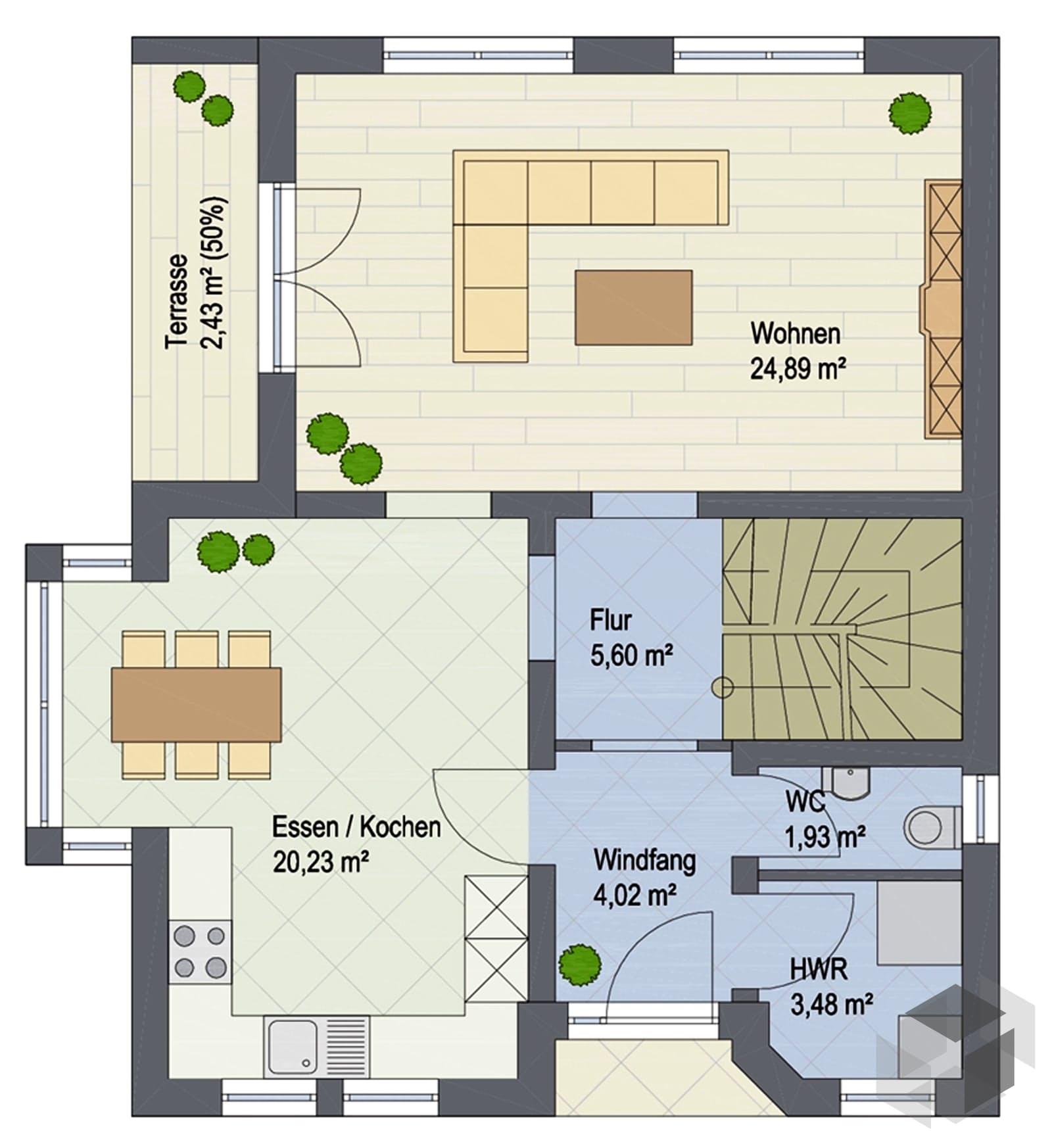 compact 129 von argisol bausysteme bewa gmbh komplette. Black Bedroom Furniture Sets. Home Design Ideas