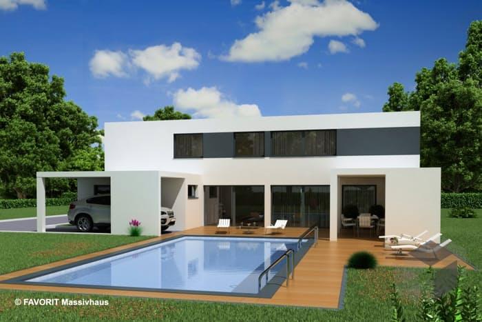 Favorit Haus concept design 198 favorit massivhaus komplette datenübersicht