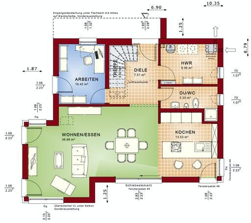 CONCEPT-M 145 Zweibrücken Floorplan 1