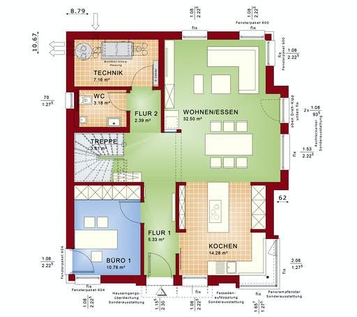 CONCEPT-M 152 Pfullingen Floorplan 1