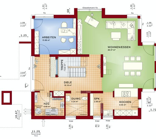 CONCEPT-M 163 München Floorplan 1
