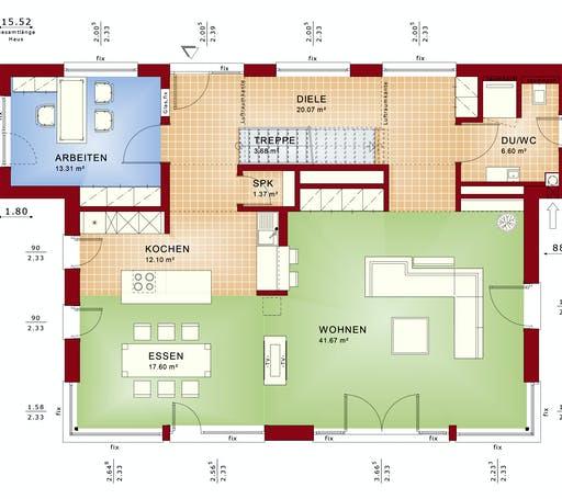CONCEPT-M 165 Wuppertal Floorplan 1