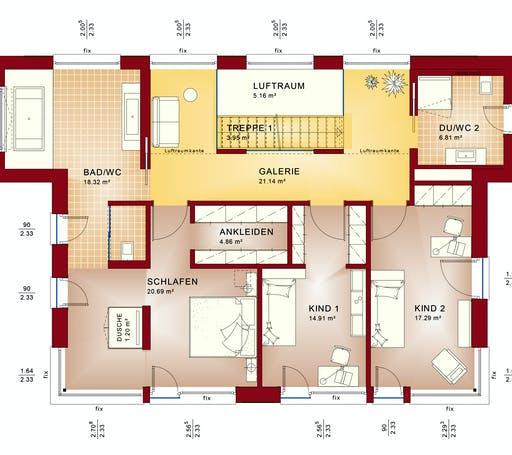 CONCEPT-M 165 Wuppertal Floorplan 2