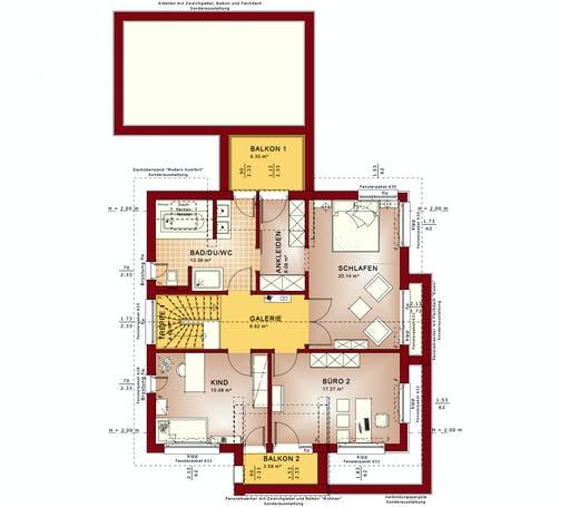 CONCEPT-M 166 Erfurt Floorplan 2