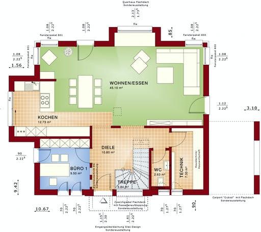 CONCEPT-M 167 Rheinbach Floorplan 1