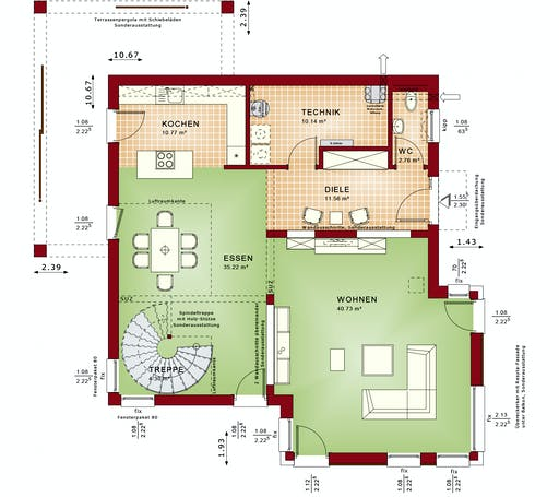 CONCEPT-M 193 Potsdam Floorplan 1