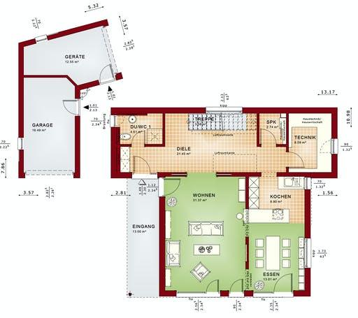CONCEPT-M 198 Mülheim-Kärlich Floorplan 1