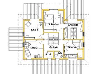 Conny (KfW-Effizienzhaus 40) von Dammann-Haus Grundriss 1