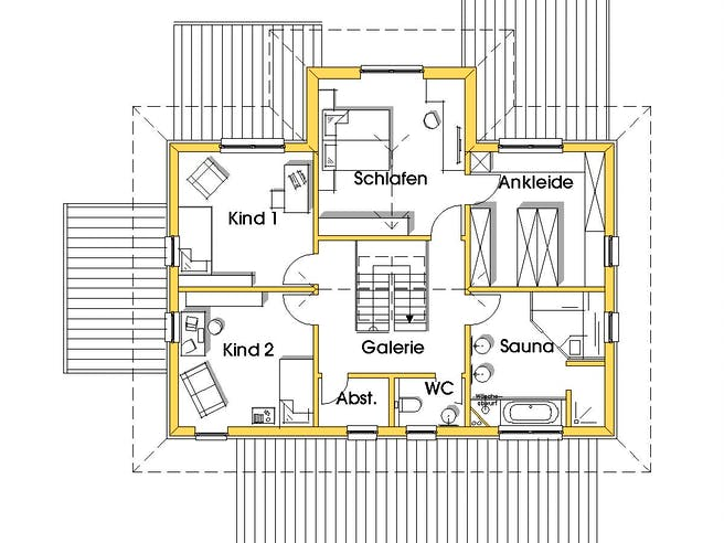 Conny (KfW-Effizienzhaus 55) floor_plans 0