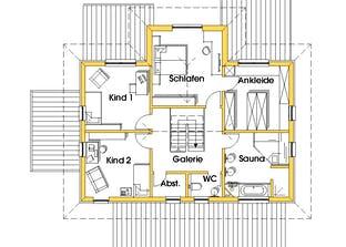 Conny (KfW-Effizienzhaus 40) Grundriss